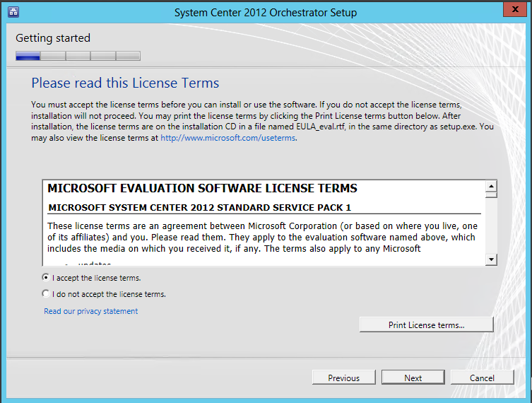 SC 2012 Orchestrator with Service Pack 1: Installation guide |