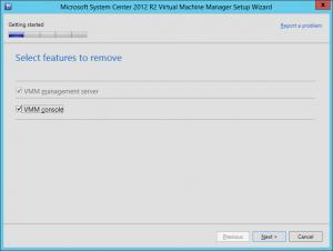 VMM 2012 R2 Upgrade 1