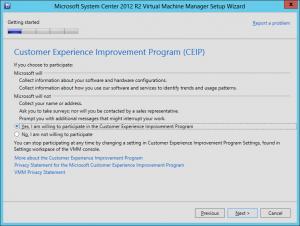 VMM 2012 R2 Upgrade 14