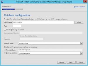 VMM 2012 R2 Upgrade 16