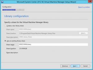 VMM 2012 R2 Upgrade 20