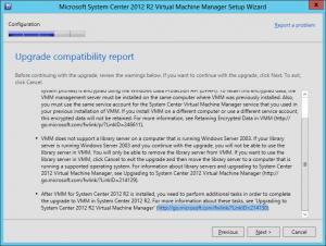 VMM 2012 R2 Upgrade 22