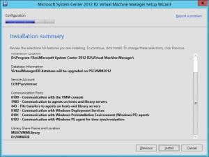 VMM 2012 R2 Upgrade 23