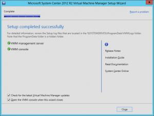 VMM 2012 R2 Upgrade 24